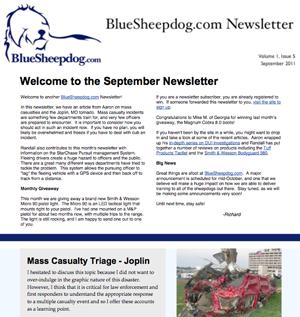Police Training Newsletter