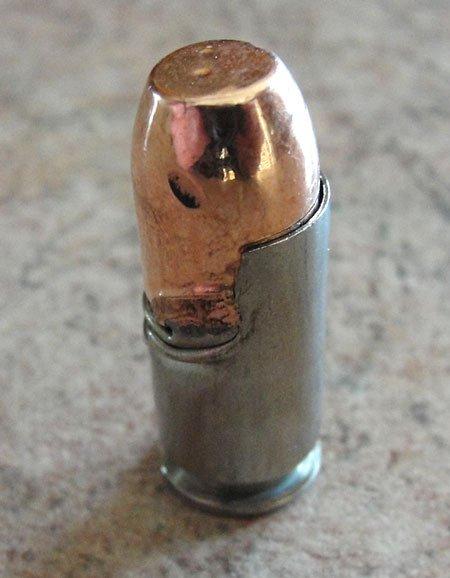 Damaged ammo