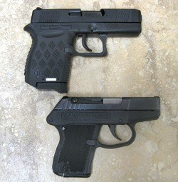 Diamondback DB9 vs Kel Tec P-3AT