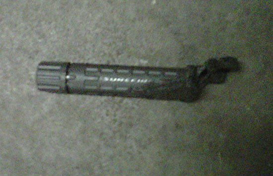 surefire flashlight fire