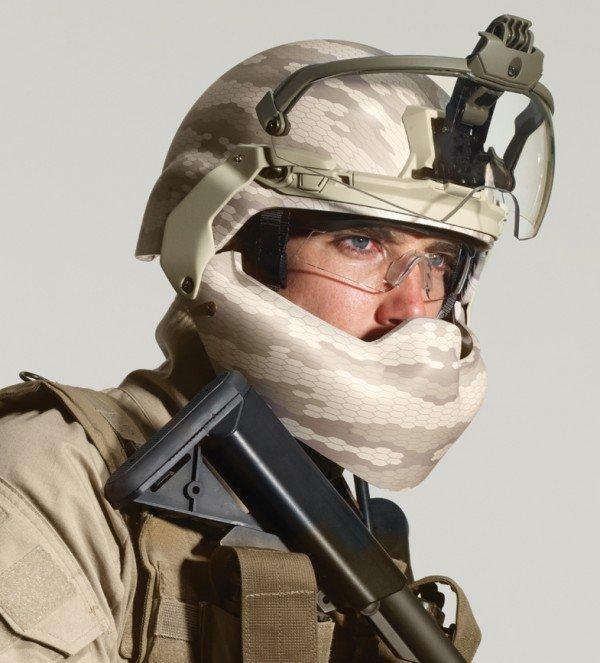 Batlskin helmet system