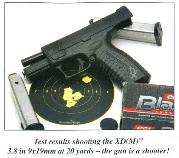 Springfield XD(M) 3.8 Range Review