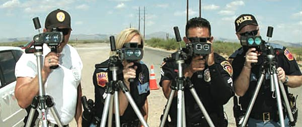 Laser Traffic Enforcement
