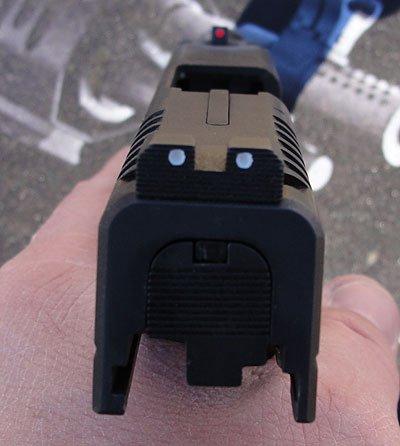 Springfield XD-S rear sight