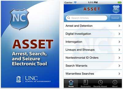 ASSET App opt