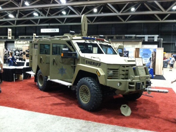 Four door Lenco BearCat