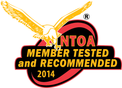 The coveted NTOA Member Tested and Recommended seal of approval