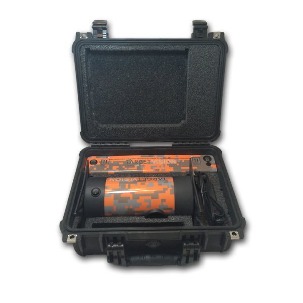 The Long Range Spotting Camera in its Pelican case.