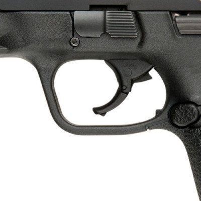 The articulated trigger does have some play in it, but acts as a drop safety as well.