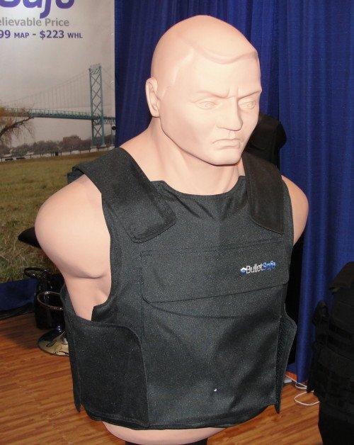 The standard Bullet Safe vest.