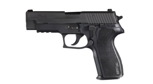 The SIG Sauer P227 in .45 ACP.
