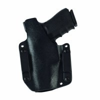 The backside of the Galco Corvus holster.