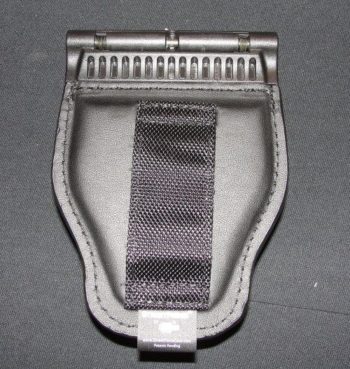 The handcuff case and OC holders have a smaller nylon belt loop.