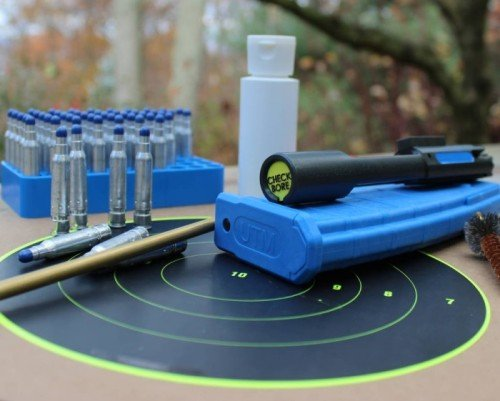 Switching to the safe training UTM CTA is as simple as changing bolt carrier groups.