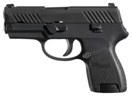 The new Sig Sauer P320 sub-compact in .45 ACP.