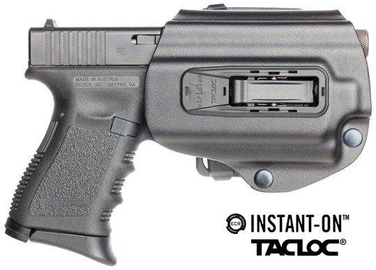 Viridian TACLOC holster with ECR technology.