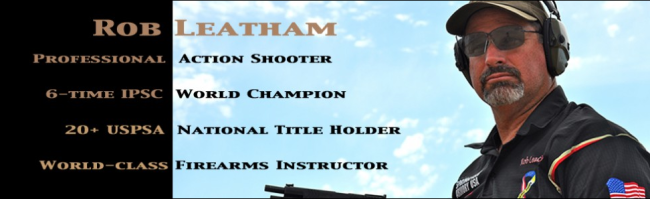 Rob Leatham professional shooter and instructor