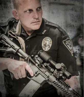 Law enforcement has quickly adapted to magnified reflex scopes to provide a much greater diversity in shot options.