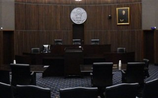 A courtroom of the U.S. 3rd Circuit Court of Appeals
