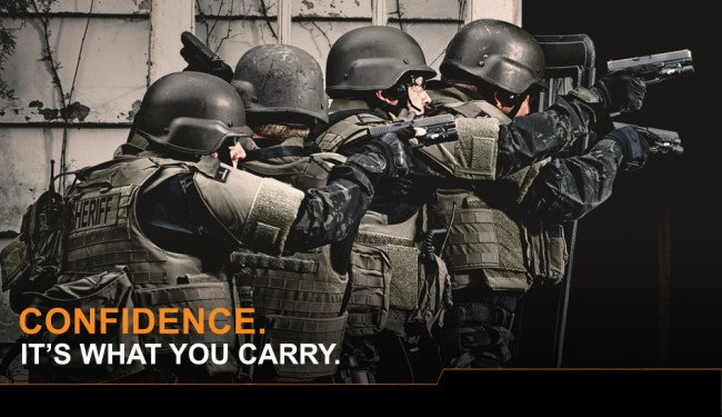 Glock has an amazing 65% market share with American law enforcement.
