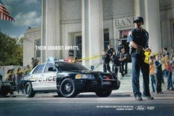The Ford advertisement for the last Crown Victoria Police Interceptor.