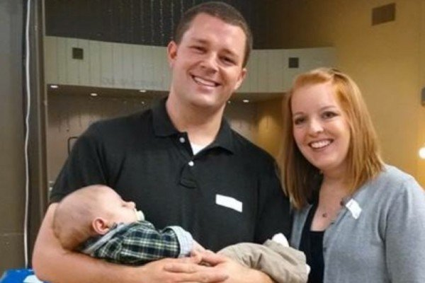 LSPD Detective Josh Ward and his wonderful young family.