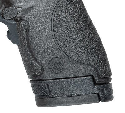 The Shield comes with (1) extended magazine, and (1) flush fitting magazine.
