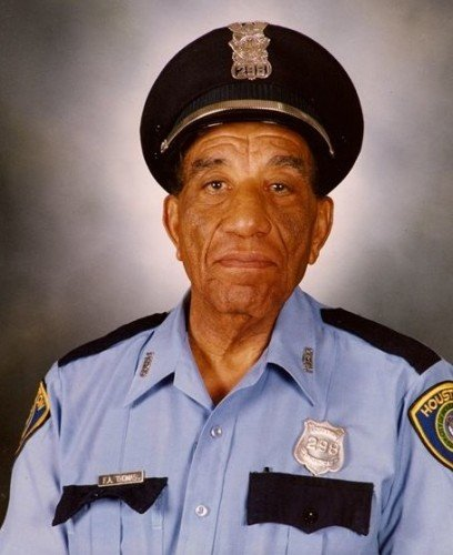Officer Thomas nearing the end of his amazing 63-year career.