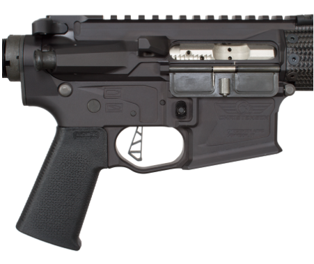 A VTAC skeletonized trigger, Magpul pistol grip, and nitride BCG are just a few upgrades.