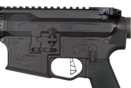 The VTAC skeletonized trigger is a single unit drop-in unit.