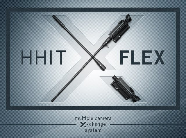 The easily adaptable HHIT Flex camera system.