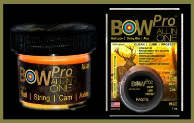 SEAL 1 Bow Pro is specifically designed to clean bow strings and leave them properly waxed.
