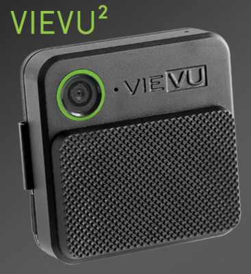The new VIEVU2 is smaller than the LE3, and has Wi-Fi streaming capability.