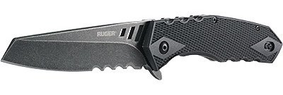 The Ruger Follow-Through with modified drop-point blade and Veff Serrations.