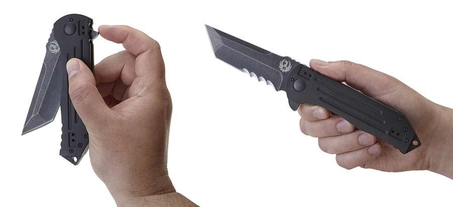 Ruger 2-Stage Folding Knife