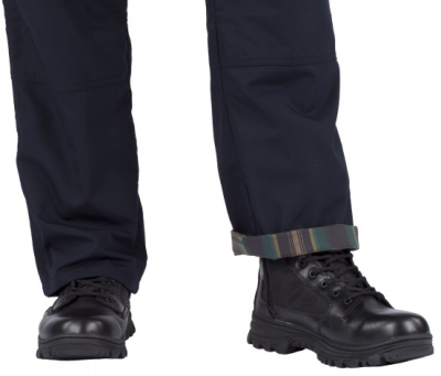 The 5.11 Taclite Flannel pants can be worn as normal, or with trendy cuffs.