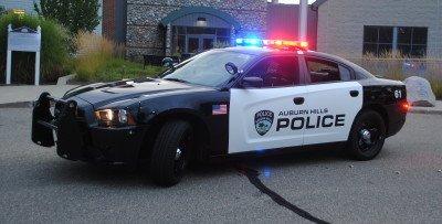 An Auburn Hills Police cruiser.