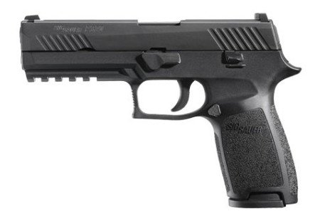 The full-size Sig P320 (photo by Sig Sauer)