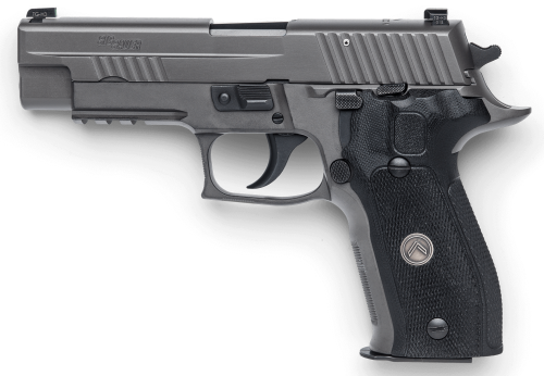 Sig Sauer P226 DA/SA Legion has impressive features.