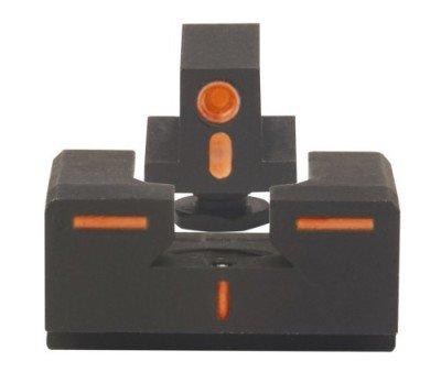 MEPRO R4E ODS sights in orange tritium.