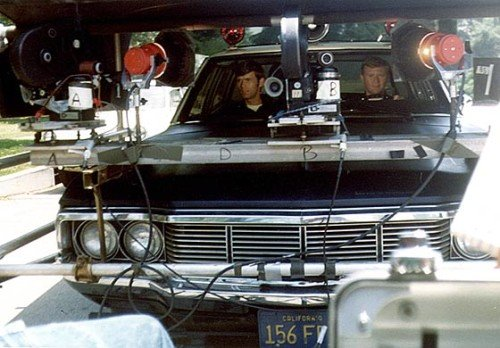 The High Tech Camera Set Up Allowed Actors To Actually Drive While Being