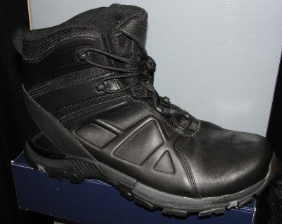 The Black Eagle Tactical 20 boots on display at SHOT.