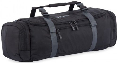 The Overwatch Bag has a large interior compartment and several exterior pockets.