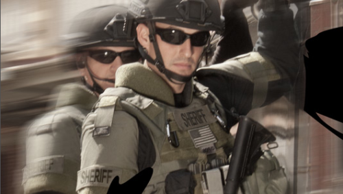 There are many law enforcement applications for a tourniquet, not just on SWAT.