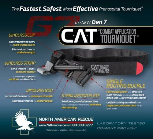 The new G7 CAT tourniquet is packed with advancements.