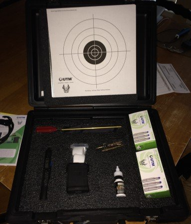 The UTM Civilian Training Ammunition Kit.