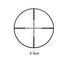 The 3-gun reticle.