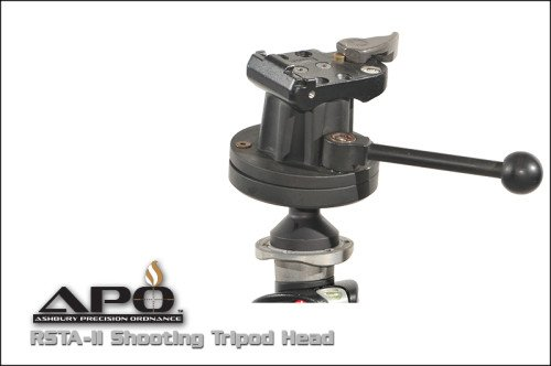 The APO RSTA-II ball pivot system matched with the locking head provide a stable yet positional shooting platform.