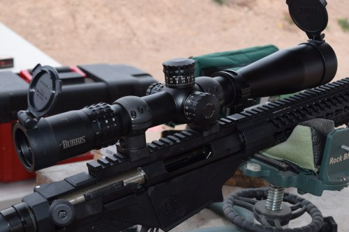 The Burris XTR-II 4-20x50mm scope was a good addition.