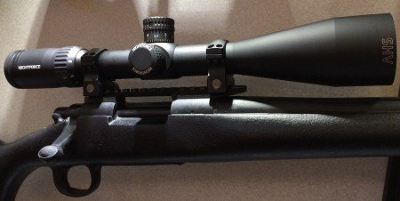 The all new Nightforce SHV 4-14x50 F1 Rifle Scope.